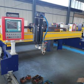 metal sheet cutting gantry plasma&flame cutting machine RM4080